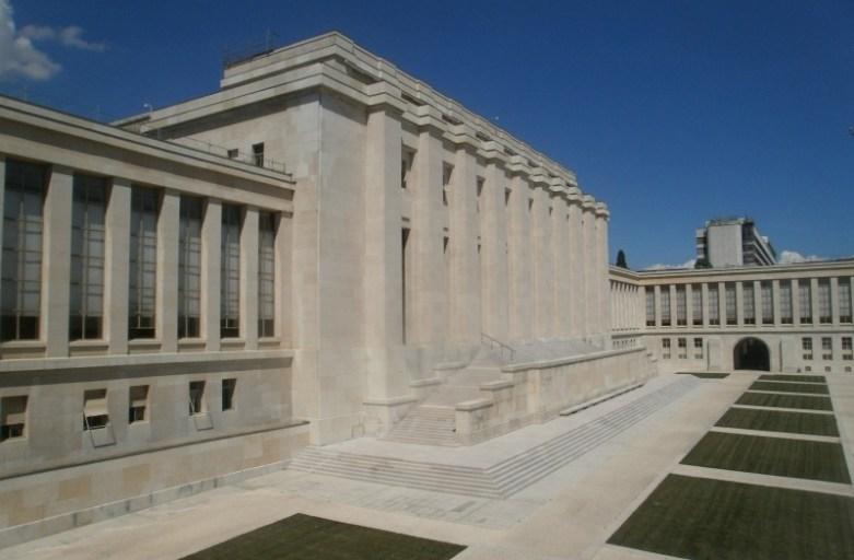pałac narodów ONZ w genewie