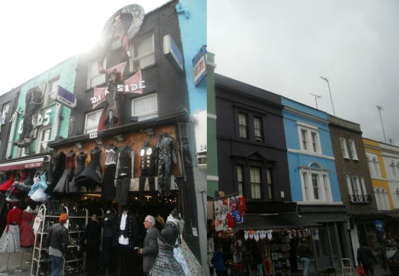 Portobello i Camden Market - londyńskie targowiska różności