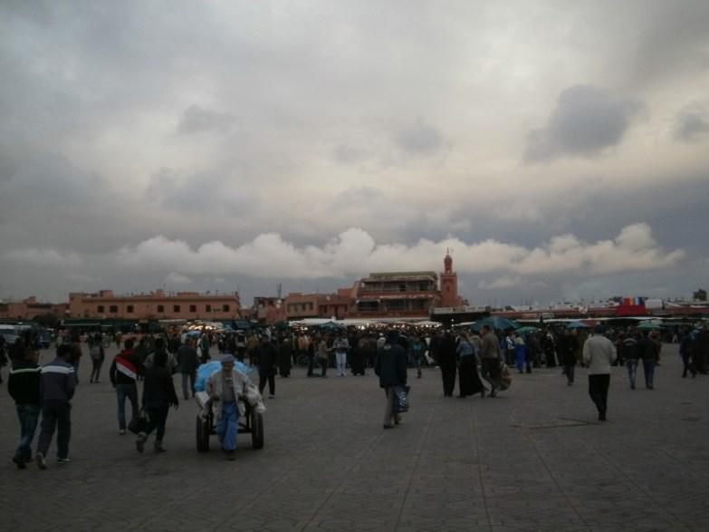 plac w marrakeszu jemma el-fna