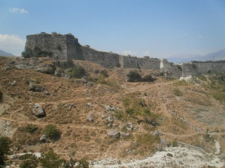 Zamek w Gjirokaster