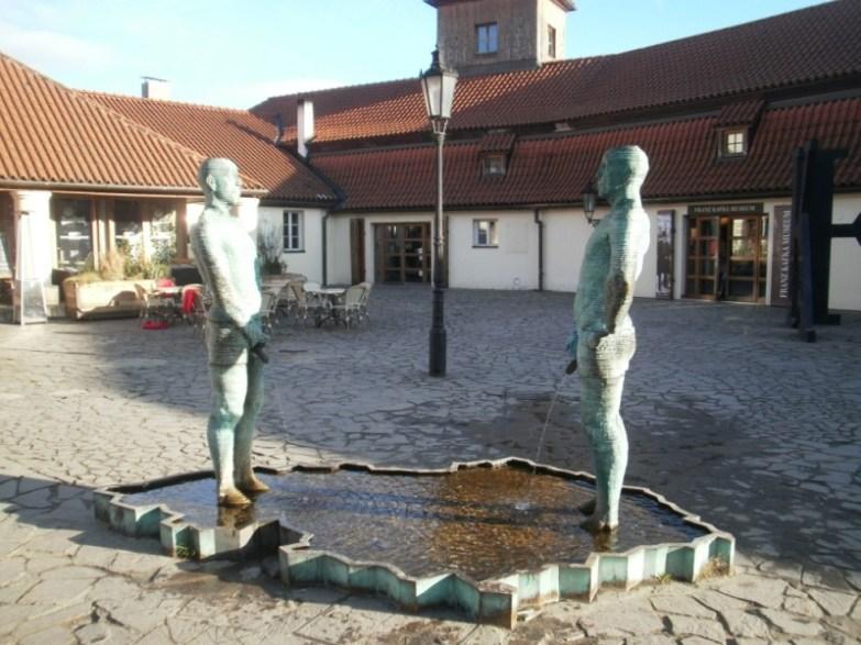 Prace Davica Cernego w Pradze