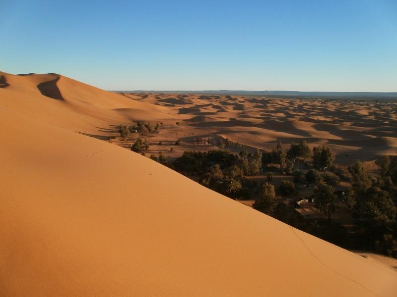 Maroko - droga na pustynię
