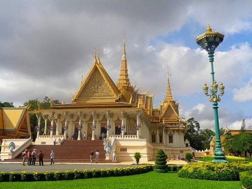 Świątynia w Phnom Penh