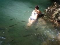 Kąpiel z rybkami w Erawan