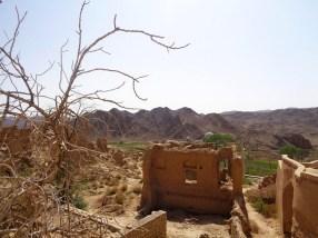 Opuszczona wieś Kharanaq