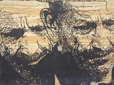 Mural w Iranie