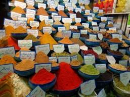 Bazar z przyprawami