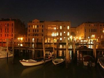 Wenecja nocą