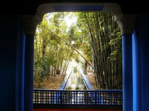 Ogród Majorelle w Marrakeszu