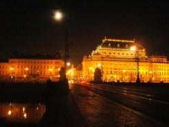 Czeska Praga nocą