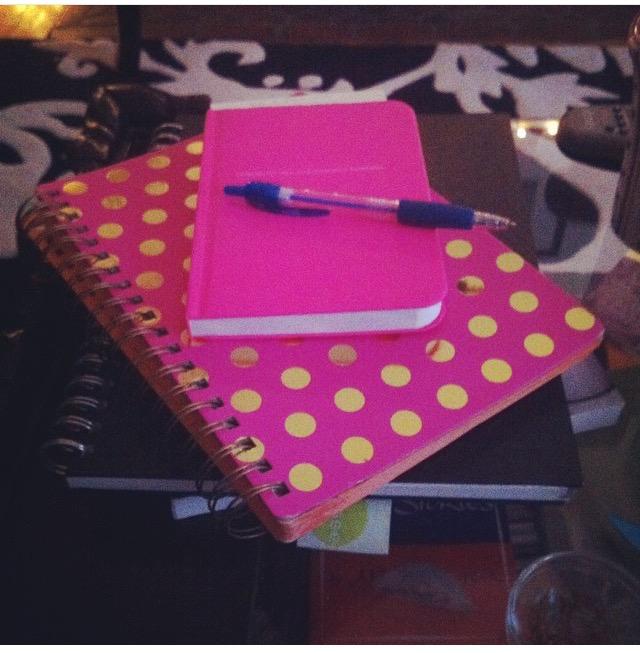 So many thoughts, SO many notebooks.