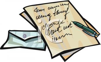 Custom of writing letters