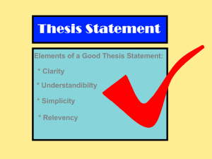 Components of a clear and concise thesis statement   thedruge        aploon Chronological essay rubric This page will you with about persuasive essays  resource tips creating thesis statement