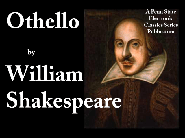 literary criticism on shakespeare s famous play othello othello is the famous play by william shakespeare presenting the tragic and crucial part of shakespeare s writings