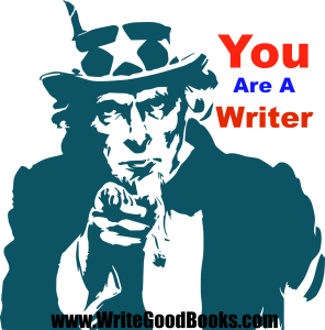 You are a writer. Don't be afraid to admit it.