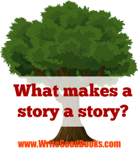 What makes a story a story? A plot.