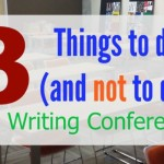 Three things to do (and not to do) at a writing conference