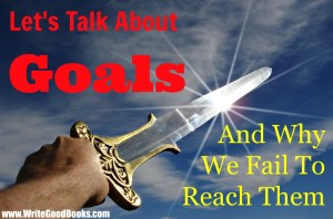 It's easy to set a writing goal. But how do you make sure you reach it?