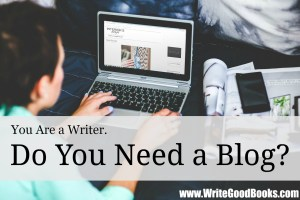 So much of writing is about building your platform. What part can a blog play in that?