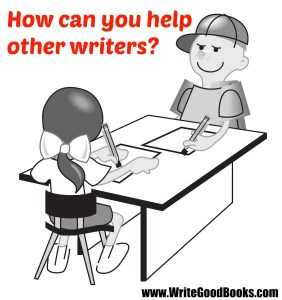 As writers, we're all on the same team. What can we do to help each other?