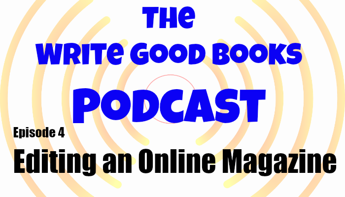 In this episode of The Write Good Books Podcast, Scott and Jason discuss what goes into running Jason's ezine, Theme of Absence, including the submission process and story selection. Also included is how editing a publication can help your own writing.