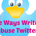 Five Ways Writers Abuse Twitter