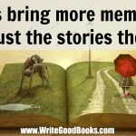 Books bring more memories than just the stories they tell