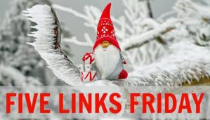 Five Links Friday 12/9/16