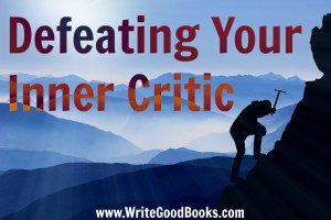 All writers occasionally have that voice in their head telling them they are not good enough. You must fight that voice and keep writing.