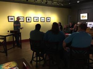 Give a talk on the business of writing at Red Path Gallery in Seward.