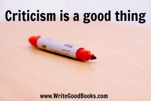 Receiving criticism in writing is never easy. But it will make you a better writer.