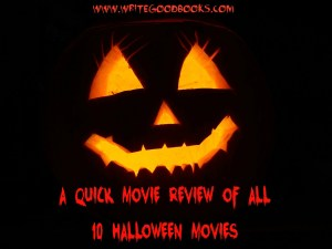 In a change of pace, to celebrate Halloween this year, I'm doing a quick movie review of all eight original Halloween movies, plus the two Rob Zombie remakes.