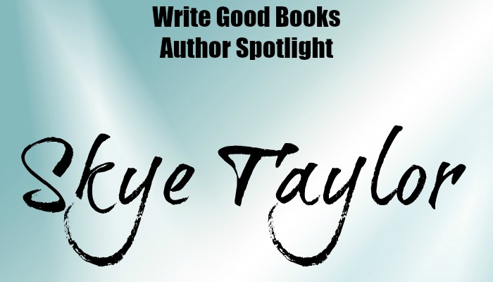10 Questions with author Skye Taylor at Write Good Books.