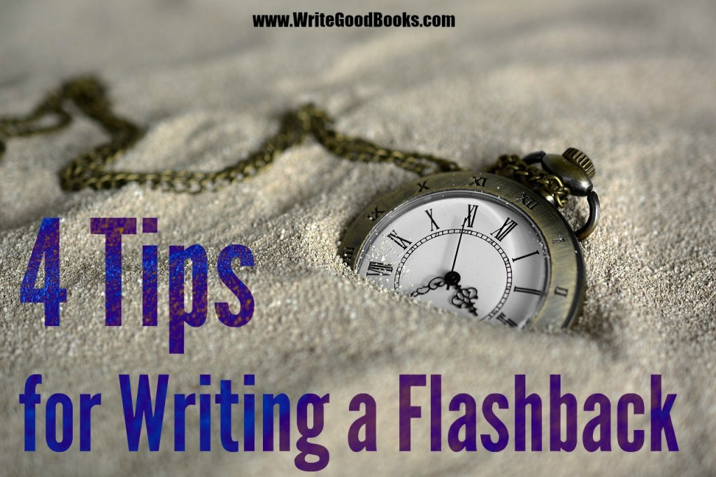 Flashbacks are a very useful tool in fiction. But make sure you use them correctly and sparingly. Here are four tips to help.