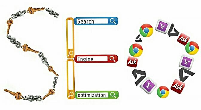 SEO Search Engine Optimization graphic