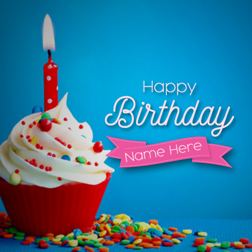 Happy Birthday Wishes Card With Name Pic