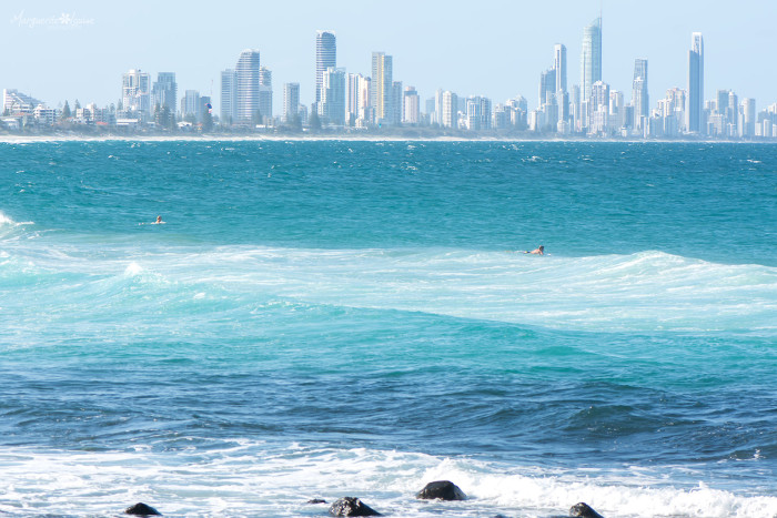 Surfer's View at Burleigh