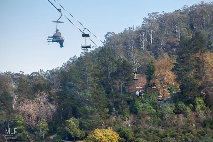 chairlift, cataract gorge, launceston, tasmania