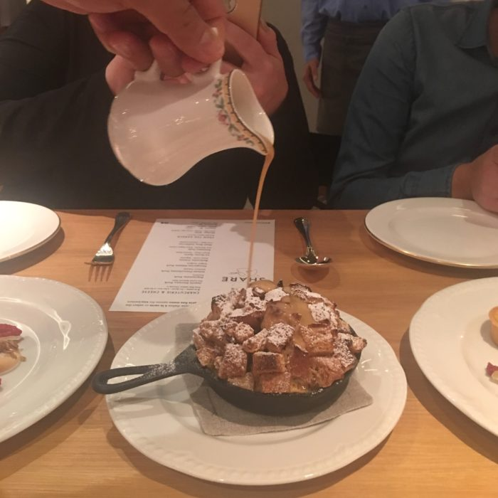 bread pudding, restaurant, cruise ship, sun princess, SHARE by Curtis Stone