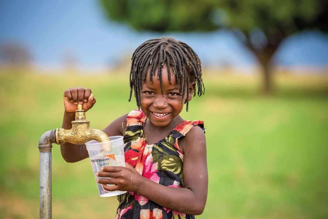 clean drinking water, water, drink, clean, world vision australia, world vision, christmas gift