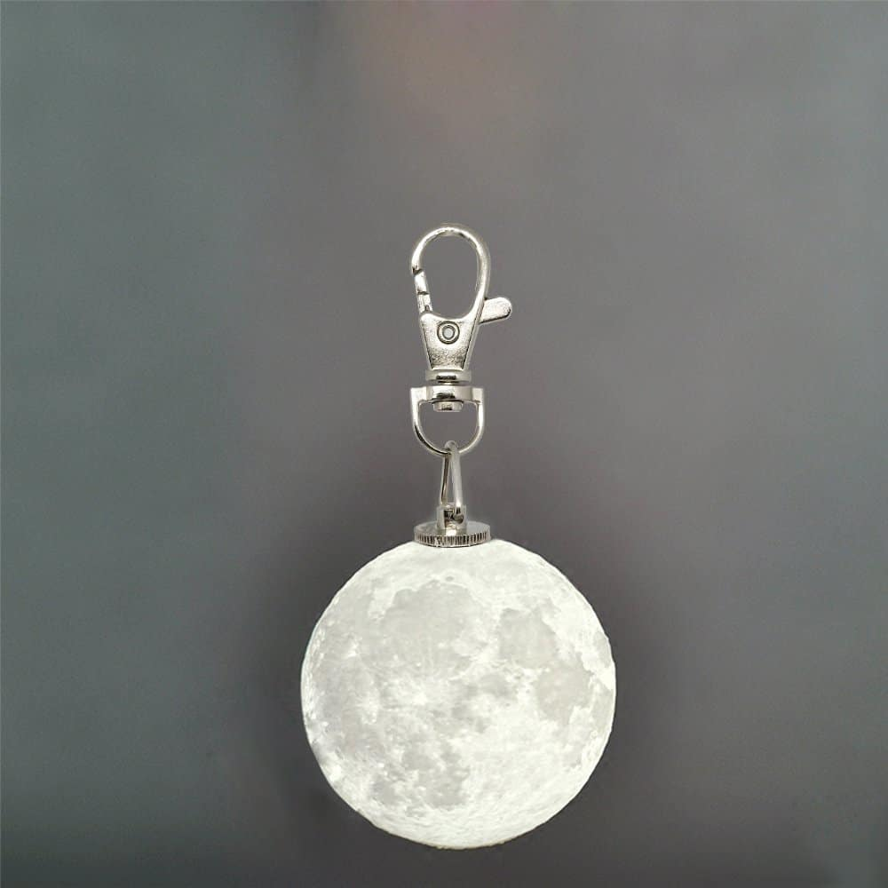 3D Moon Light with Key Chain