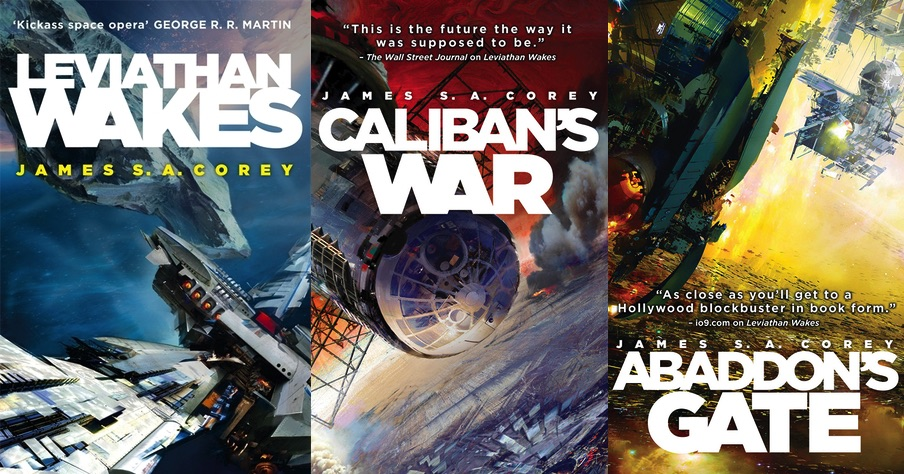 The Expanse Series by James S. A. Corey