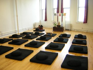 Productive meditation doesn't have to occur in a meditation room.