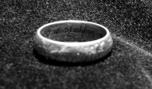 The hobbits' hardiness helps them to endure the Ring.