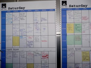 Okay, my schedule is nothing compared to this one.
