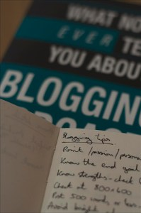 Blogging tips for writing and publishing more often.