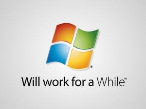 Perhaps a job is a little like Microsoft Windows?