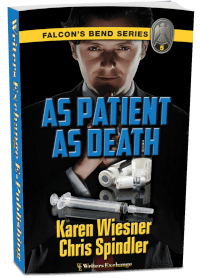 Falcon's Bend Series, Book 5: As Patient as Death 3d cover