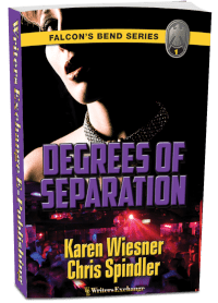 Falcon's Bend Series, Book 1: Degrees of Separation 3d cover
