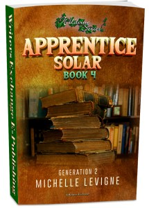 Wildvine Series, Generation 2: Book 4: Apprentice Solar 3d cover